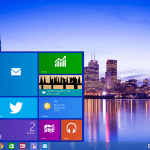 picture of windows 10 desktop layout