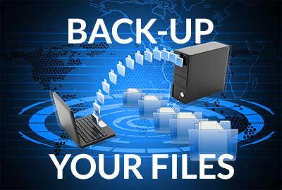 Back Up Your Files or Prepare to Lose Them Forever