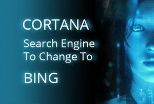 search engine change to Bing