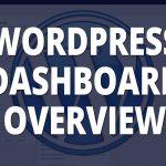 WordPress dashboard web design tn blog