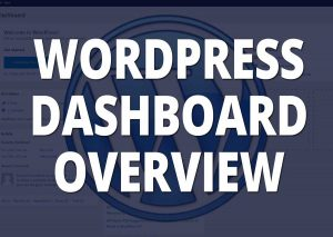 WordPress dashboard web design tn blog