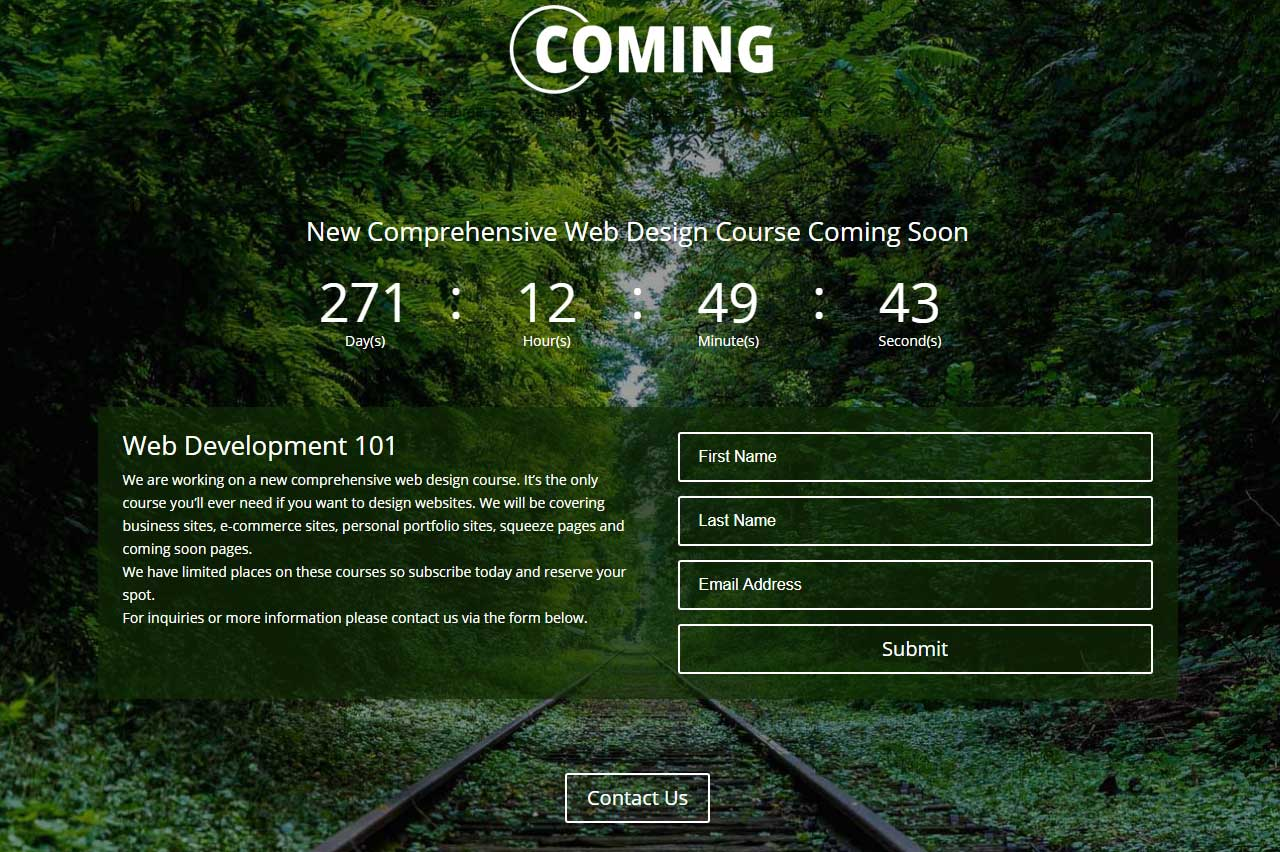 Create a coming soon page in 30 minutes with the Divi Theme