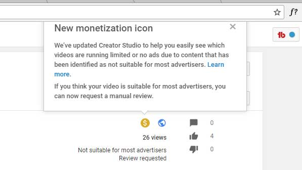 YouTube Marking Videos not suitable for Most Advertisers!