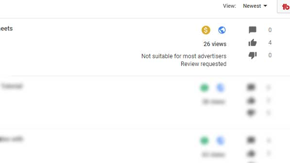 You Tube Marking Videos not suitable for Most Advertisers!