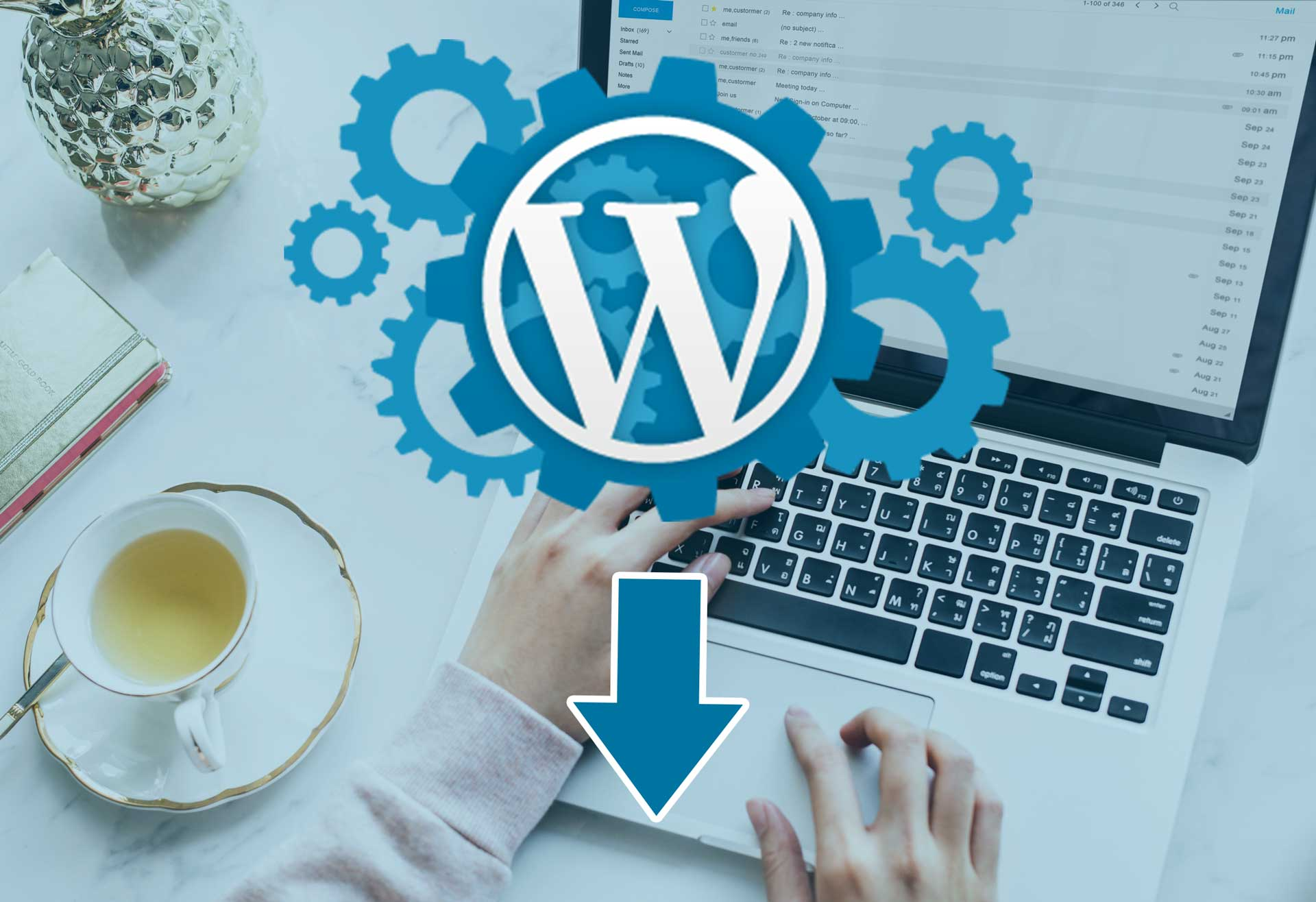 How to migrate a wordpress site manually from online host to local host