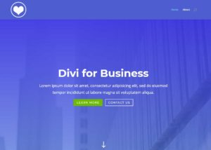 Try the Divi theme Here: