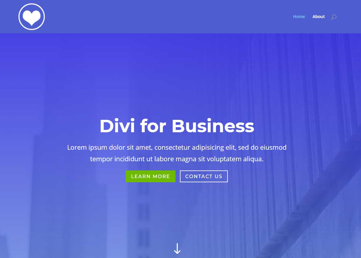 Divi WordPress Theme – Change Logo Color On Different Pages