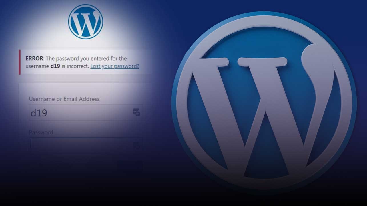 WordPress reset your password without email access via the database