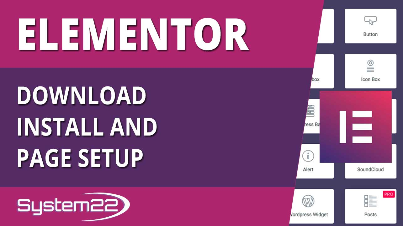 Elementor WordPress Plugin Download Install And Page Setup