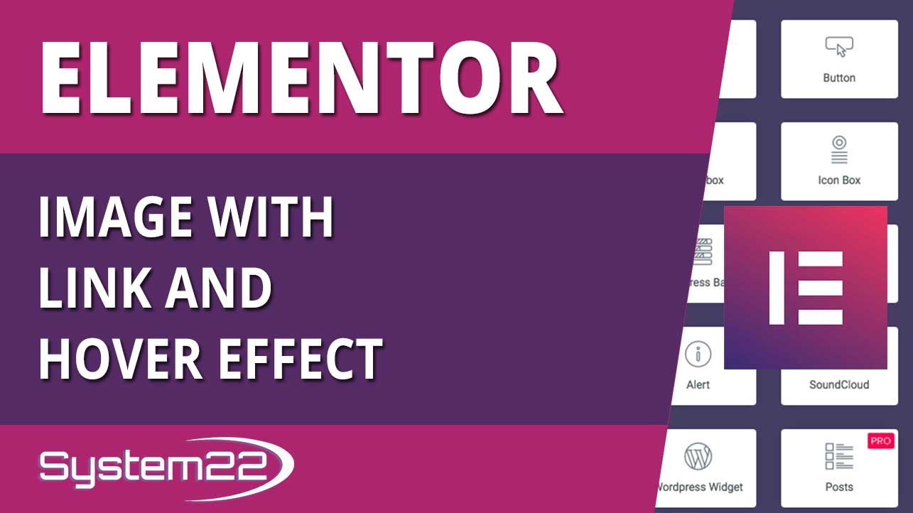 Elementor WordPress Plugin Image With Link And Hover Effect