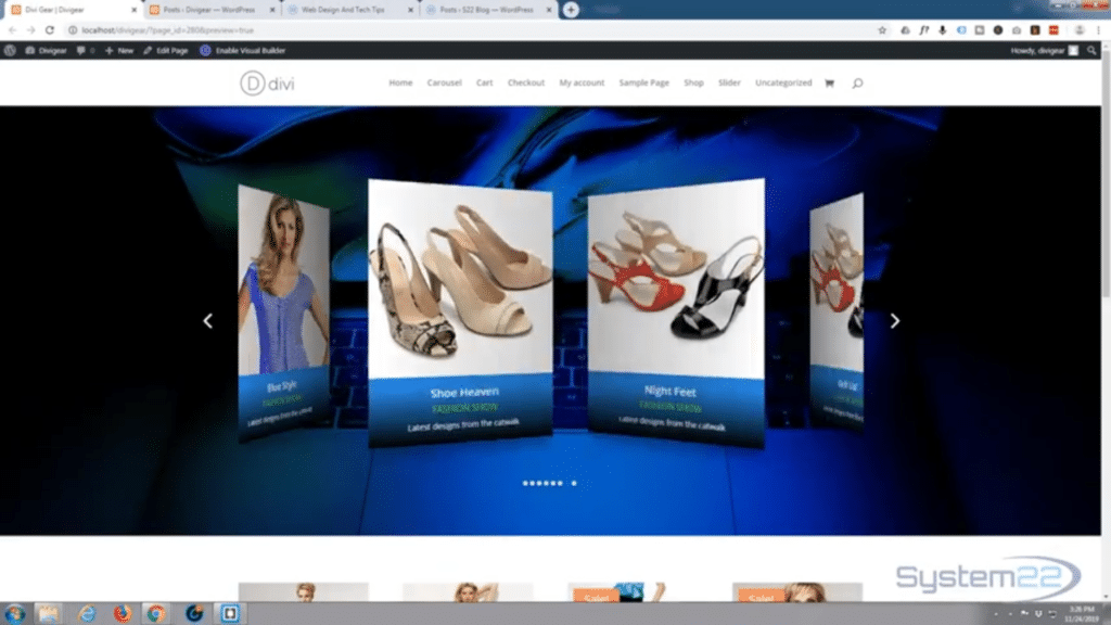 Import and Export WordPress blog posts