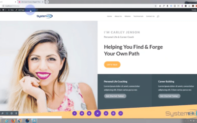 Build a multi-page website in 20 minutes with the new Divi 4 theme