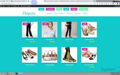 Export and import products into WooCommerce