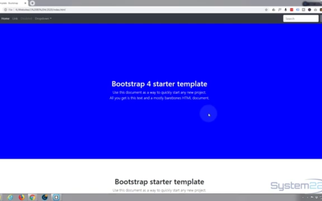 How to use VH and VW viewport units with bootstrap 4