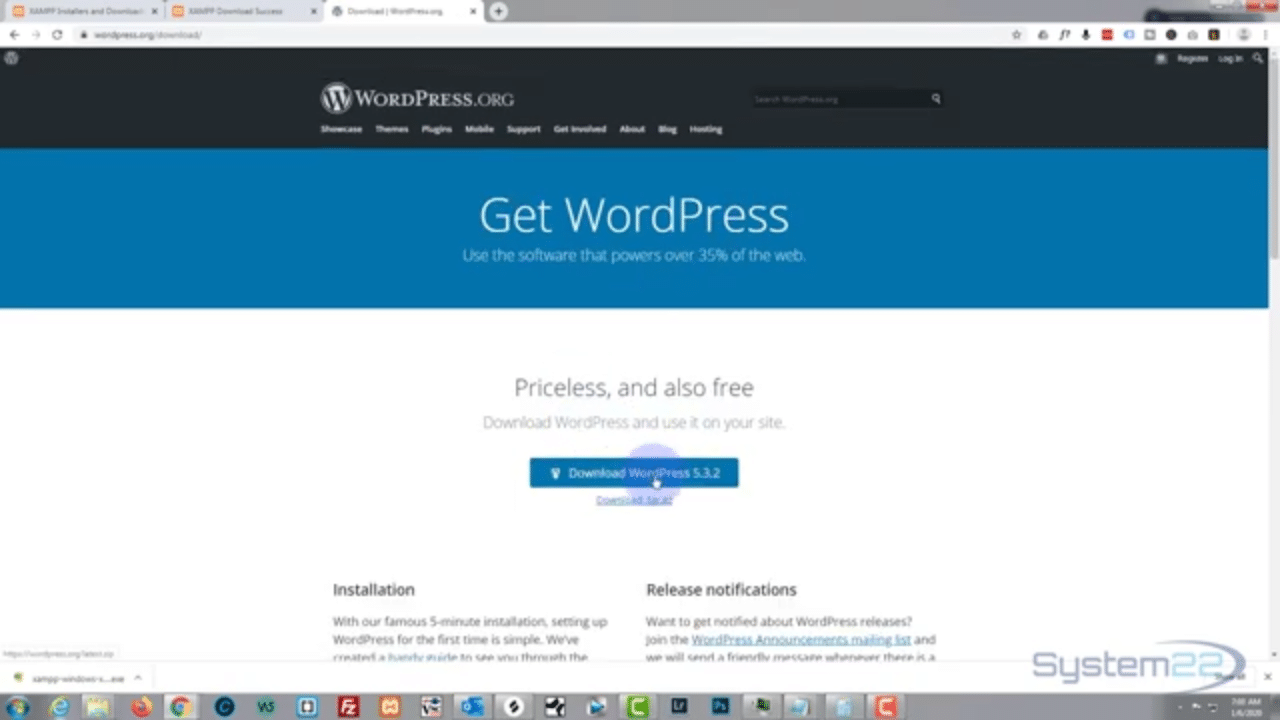 Install Wordpress On Localhost With Xampp Software