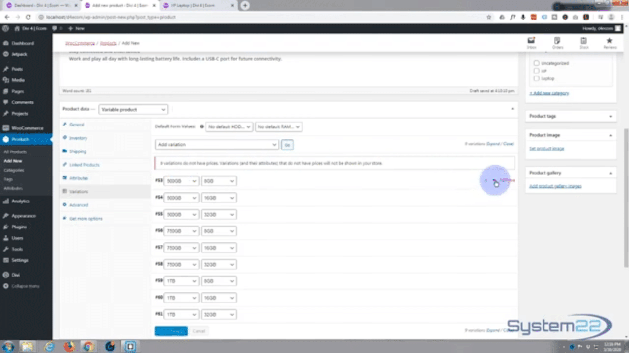 Complete Ecommerce WordPress Website Build With Divi
