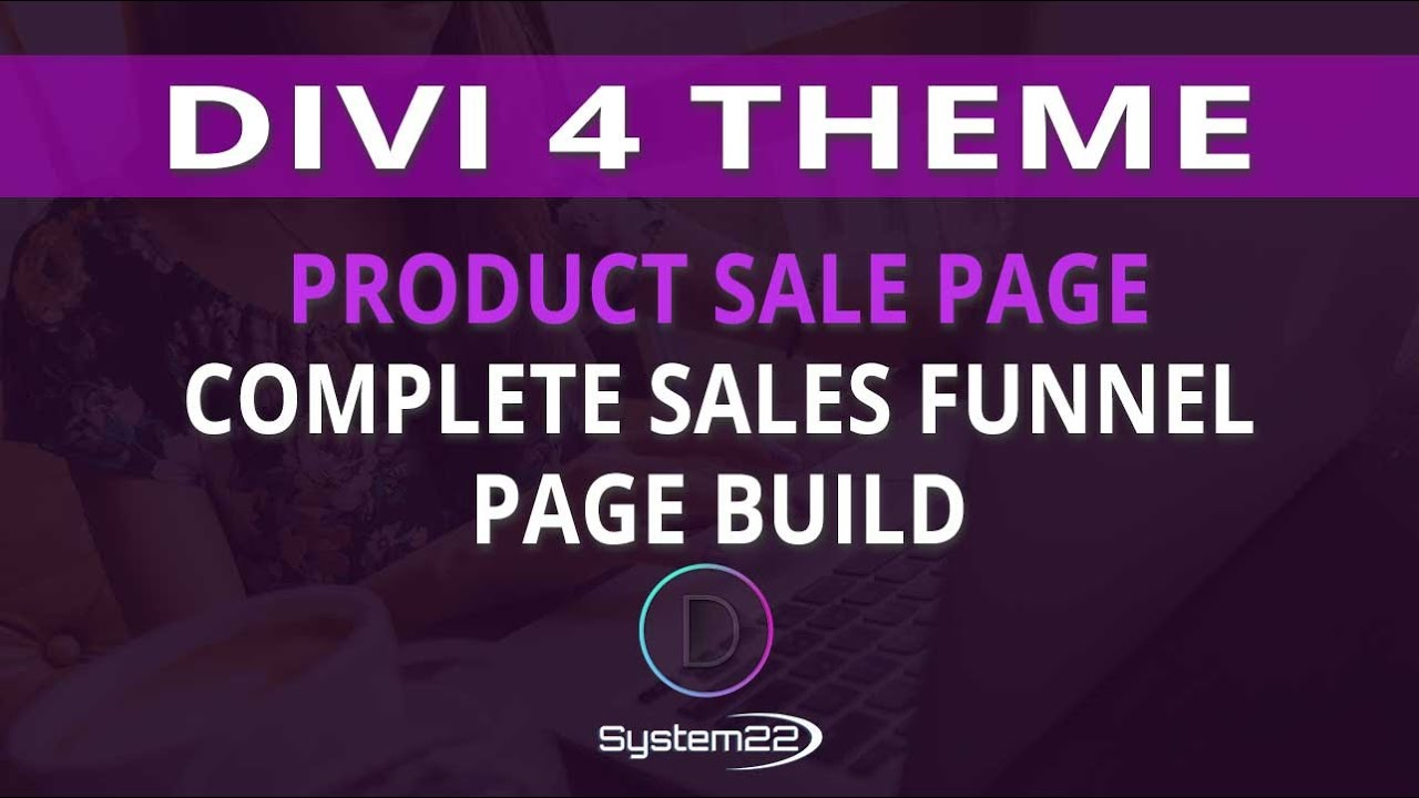 Divi 4 Product Sale Page Complete Sales Funnel Page Build