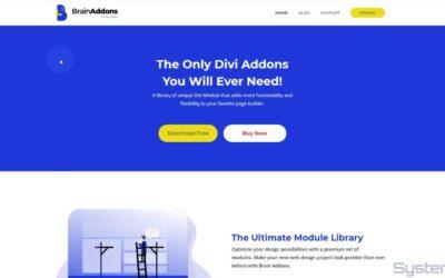 Divi Brain Addons Free Divi Plugin Overview