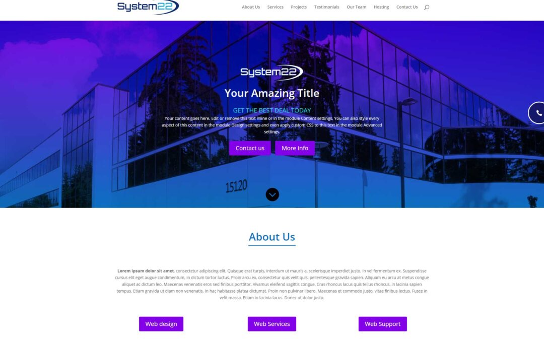 Complete Divi Theme One Page Scrolling Site File Download And Playlist